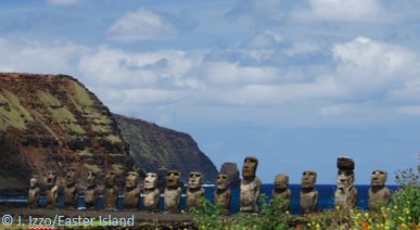 Easter Island String of Heads