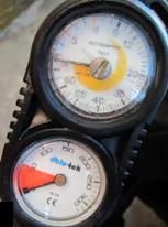 scuba gauge